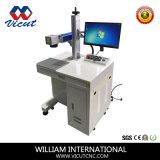 20W de Laser die van de vezel Machine voor de Teller van de Armband van het Messing merken