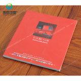 Tapa dura de promoción de la impresión de libro en papel