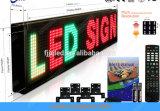P10 sondern Zeichen des rote Farben-Verschieben- der Bildschirmanzeigetext-LED aus