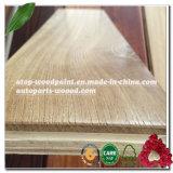 Folheado de madeira serrada união White Oak Camada superior para a transformação de madeira parquet de piso