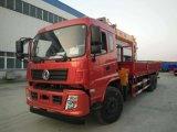Il camion di Dongfeng 6X4 12ton ha montato con la gru