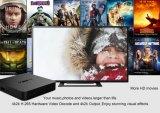T95 N androider Fernsehapparat-Kasten Amlogic S905X 2GB RAM/8GB ROM-intelligenter Fernsehapparat-Kasten-Support 4K HD, WiFi