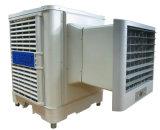 Окно установки охладителя нагнетаемого воздуха при испарении