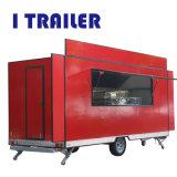 Vrachtwagen Met drie wielen van het Roomijs van de Aanhangwagen van het Voedsel van de Verkoop van China de Hete Elektrische