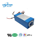 Bicicleta eléctrica Bateria de íon de lítio 18650 24V 30AH Bateria de iões de lítio