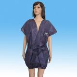 Albornoz desechables no Kimono Albornoz transparente para el bronceado
