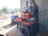 Qty2-20 Legoの煉瓦作成機械、機械を作る圧縮されたブロックをかみ合わせる油圧粘土土の地球