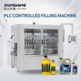 Automatic 1-5L contrôlés par le PLC Edibletechnical de type piston servo moteur industriel de l'huile de lubrification hydraulique Machine de remplissage de liquide