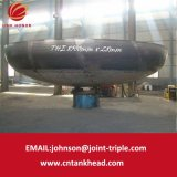 05-32 grande sezione del acciaio al carbonio che forma testa servita per il serbatoio atmosferico ID8500mm*28mm