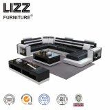 Высокое качество современный Угловой кожаный диван для дома