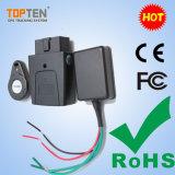 Topten Tracker GPS avec OBD de haute qualité sur le véhicule de détection de tension de l'Installation facile (TK208-SU)