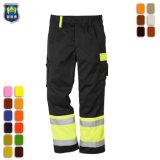Высокая видимость мужчин Workwear Hi по безопасности работы брюки