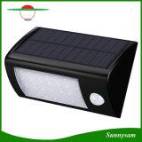28 LED Impermeable IP65 de la luz solar exterior con sensor de movimiento