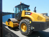 최고 질 14 톤 쓰레기 압축 분쇄기 진동하는 도로 롤러 가격 Xs143, Xs143j