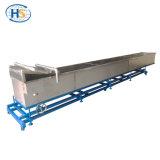 Máquina Extrusora de doble husillo baño de agua de refrigeración de hilo de plástico