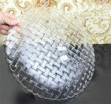 Plaque de verre en cristal Dîner
