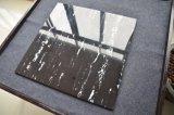 precio de fábrica de materiales de construcción de la banda de mármol blanco y negro de piedra