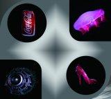完全な目屋内広告のための露出したホログラフィックLEDのファン表示