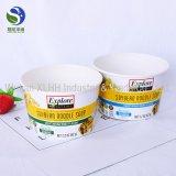 Taças de macarrão grande biodegradável de alta qualidade