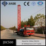 Impianto di perforazione di trivello montato camion del pozzo superficiale Jdc500