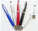 Stylos à stylet Stylus Stylus 3 en 1 + stylo à bille USB + Stylo à écrire