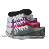 Beiläufige Tanzen-Fußbekleidung mit Sequin-Oberleder für Tanzen (SNC-230041)