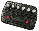 6CH 180W tipo escondido bagagem jammer portátil do sinal do RF da bateria interna