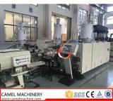 Linha de produção máquina da tubulação de fonte da água do gás do PE do plástico