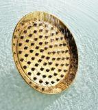 旧式な古典的な8 真鍮の円形の固定シャワー・ヘッド