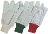 Сверла из полиэфирного волокна хлопка защитные перчатки (2100)