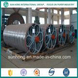 La fabricación de papel utilizó el molde del cilindro