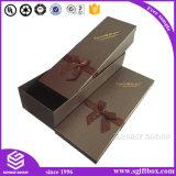 Haut de gamme en cuir recyclé personnalisé Boîte de fleur d'emballage