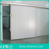 Salle de congélateur en acier inoxydable porte coulissante