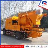 Diesel y eléctrico doble Sharft montados sobre camiones hormigonera con bomba