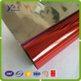 0.012mm metallisierter Film mit roter Farbe
