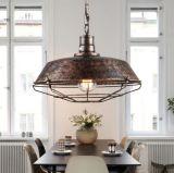 Barra de café de cocina industrial decorativa Edison Pendent lámpara de luz