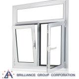 알루미늄 Windows를 설치하는 프랑스 새로운 디자인을 기울 도십시오