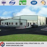 Edificio industrial del marco de metales pesados prefabricado
