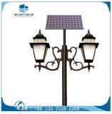 Energiesparender doppelter Arm-dekoratives Yard-Garten-Solarlicht