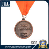 Customer Design Metal Medal with Ribbon