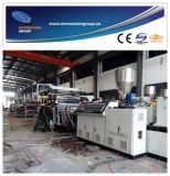 PVC工場10年のの自由な泡シートの生産ライン