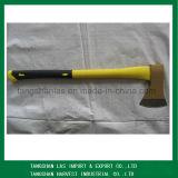 Ось стали углерода оборудования оси с деревянной ручкой