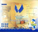 De Decoratieve Materialen H0101 van het Document van Wallcovering van het fiberglas