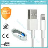Sincronización de datos de TPU de carga de 8 clavijas Rayo Cable USB para iPhone