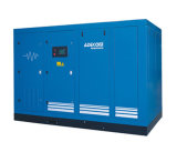 Compresor de aire industrial inyectado petróleo del tornillo del mecanismo impulsor de velocidad variable (KD55-10INV)