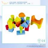 Madera bloque de construcción para niños de juguete de madera bloque magnético bloques de construcción para niños