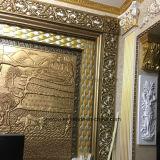 Panneau de mur d'unité centrale d'allégement de polyuréthane/diviseurs décoratifs Hn-A004 mur de panneau