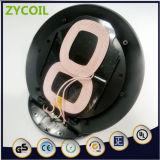 Transmissor da bobina da folha da ferrite de Tx de duas bobinas para o carregador rápido