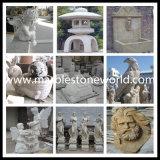 Scultura di marmo intagliata mano per la statua di marmo della decorazione (CV010)