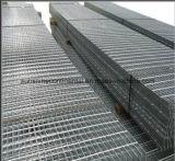 La strada privata d'acciaio galvanizzata tuffata calda gratta la grata